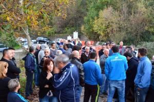 manifestazione Fiume 7 novembre